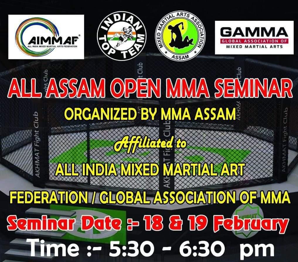 Northeast India MMA News – All Assam Open MMA Seminar