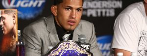 Anthony Pettis Appointed to GAMMA USA Athletes' Commission
